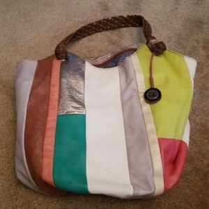 Multi color purse